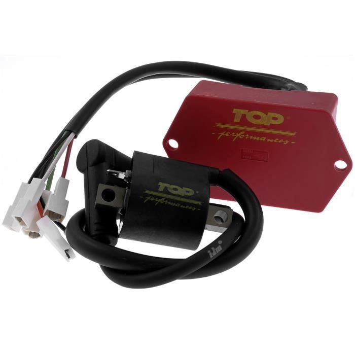 CDI - Unité d'allumage TOP PERFORMANCE pour GENERIC Trigger 50cc, X Enduro, MBK Limit, Power, Moto à boite
