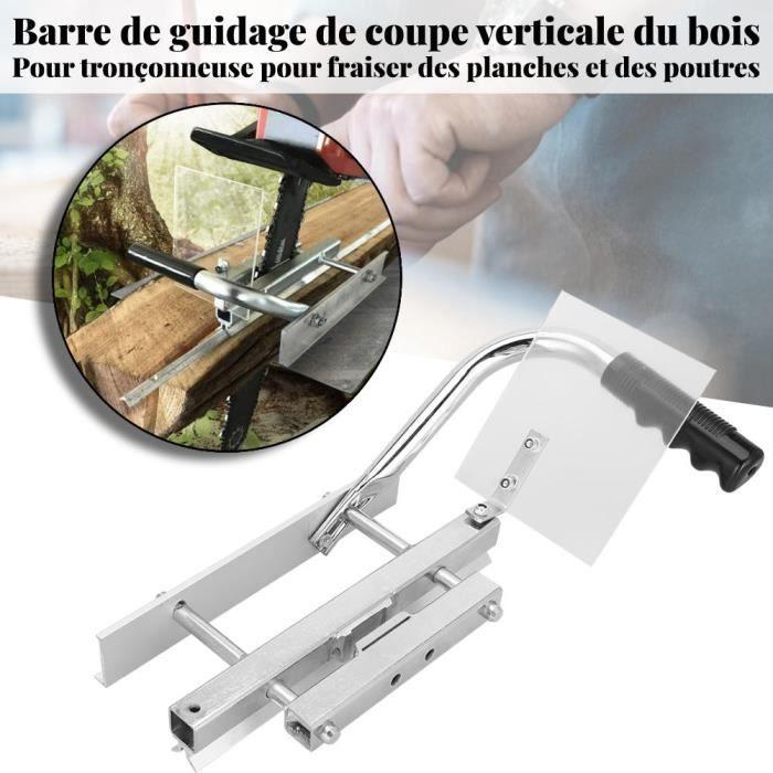 Système de guide de moulin de rail de barre en aluminium de coupe de bois de Rail 38.5*21*11.5cm - SUC5
