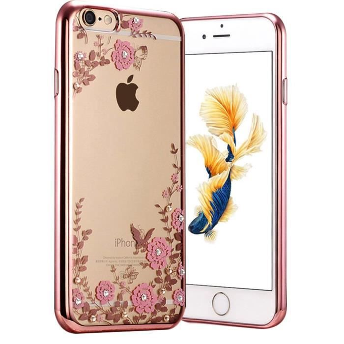 coque huawei p10 or rose