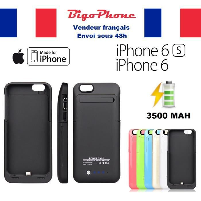 coque rechargeable iphone 6