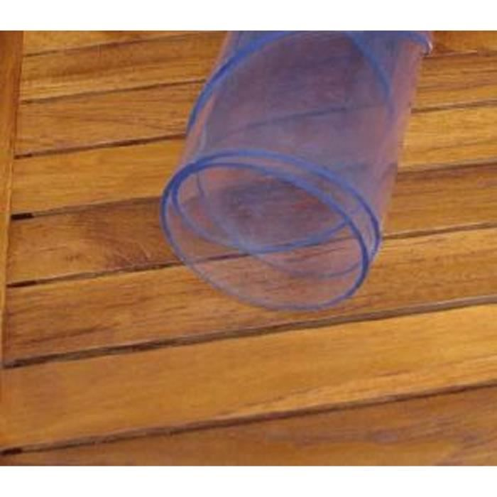 Protege transparent epais 2mm a la coupe achat vente protege table cdiscount - Protege table transparent epais ...