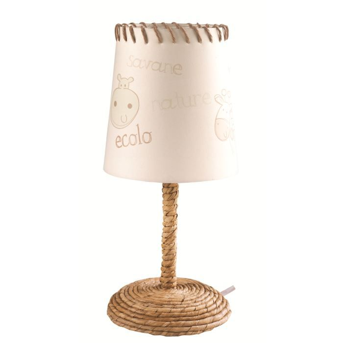 Lampe de chevet bio jungle okavango achat vente lampe de chevet bio jungle cdiscount for Chambre jungle cdiscount
