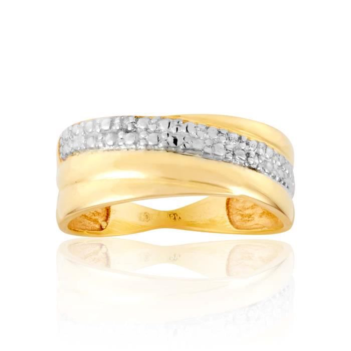 Bague CLEOR Or 375-1000 Diamant
