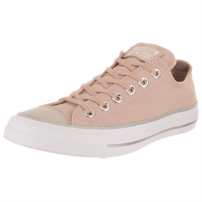 d5cfc1e3ae483 Baskets mode chuck taylor all star femme converse ctas ox 18 Rose ...