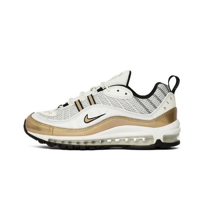 Chaussures Nike Air Max 98 UK Jaune - Cdiscount Chaussures