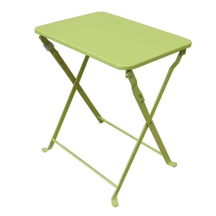Petite table de jardin pliante