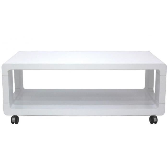 Table basse roulettes ophelie achat vente table basse table basse roulettes op - Table basse sur roulette ...