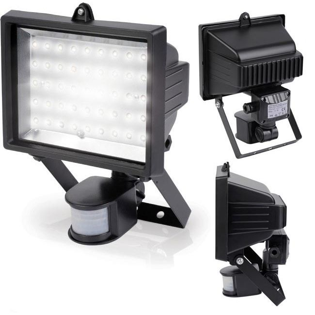 Projecteur 45 led detecteur achat vente projecteur for Norme ip44 exterieur