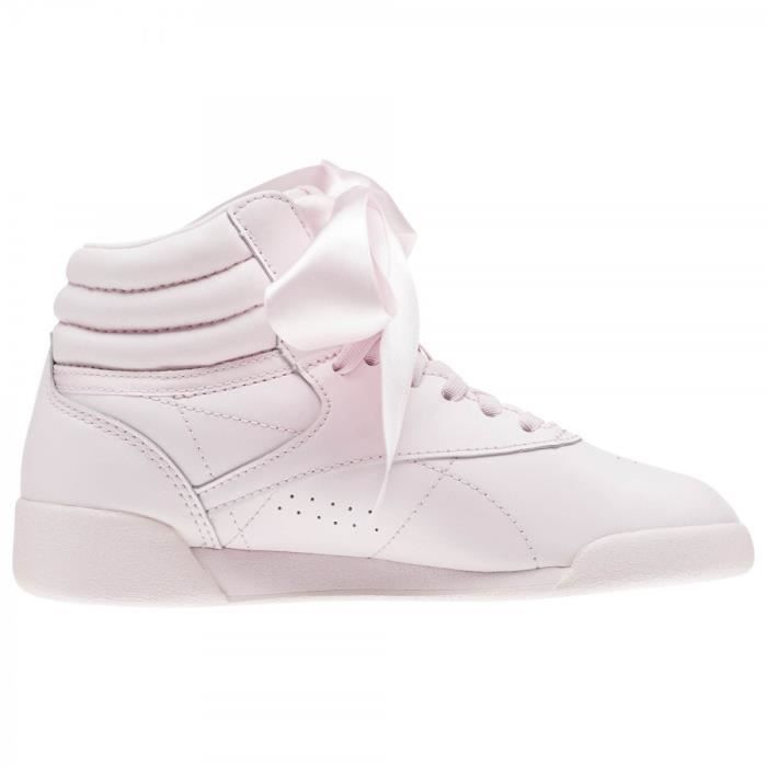 Basket Reebok Freestyle Hi Satin Bow Cadet - CN2026