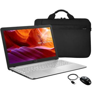 Vente PC Portable Ordinateur portable ASUS R543UA-DM2866T 15'' FHD - i3-7020U - RAM 4Go - stockage 1To + 128Go SSD - Windows 10 + sacoche + souris pas cher