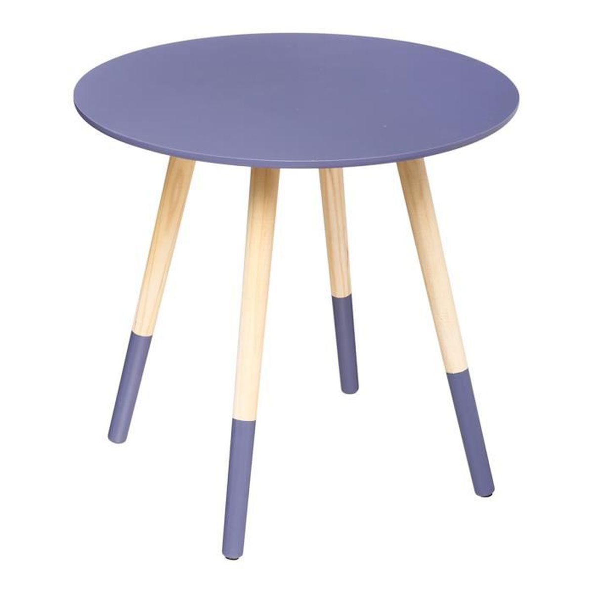 Table basse mileo berry lovely 48cm achat vente table for Table basse hauteur 45 cm
