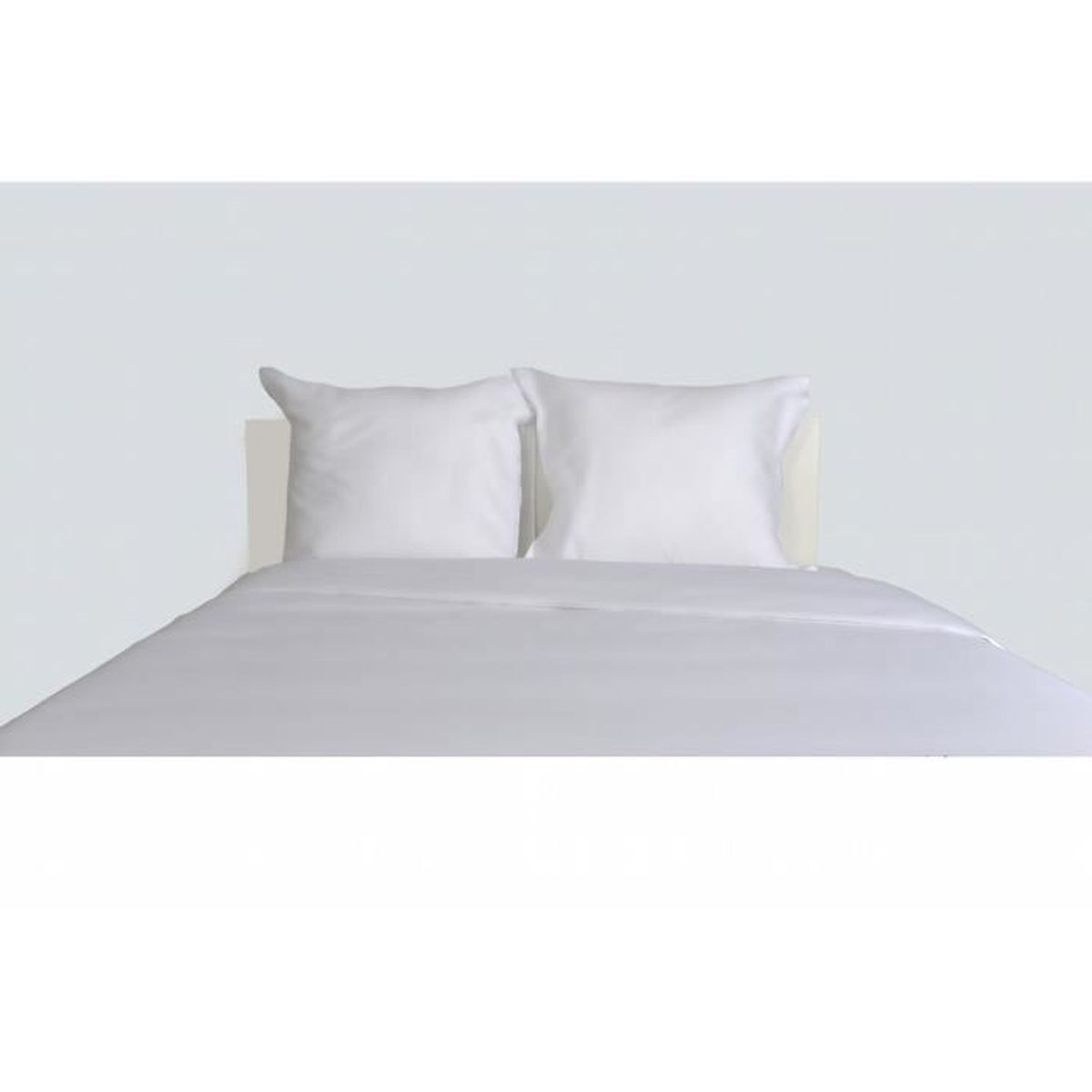 drap housse percale 140x190 blanc achat vente drap housse percale 140x190 blanc pas cher. Black Bedroom Furniture Sets. Home Design Ideas