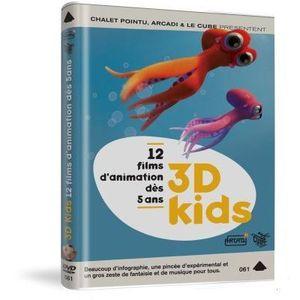 DVD DESSIN ANIMÉ DVD 3D kids