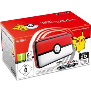 CONSOLE NEW 2DS XL New Nintendo 2DS XL Édition Poké Ball