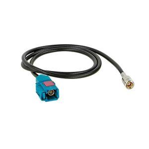 Aerzetix 3800946214151 Adaptateur dAngle Iso-DIN pour Antenne dAutoradio