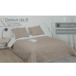 boutis 240x260 achat vente boutis 240x260 pas cher cdiscount. Black Bedroom Furniture Sets. Home Design Ideas