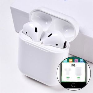 CASQUE - ÉCOUTEURS Écouteurs Bluetooth sans Fil i30, Sports Casque Bl