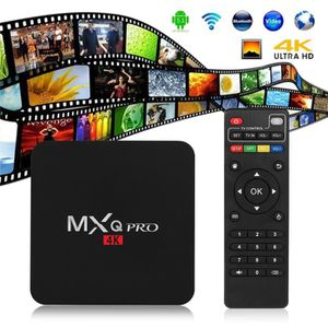 BOX MULTIMEDIA MXQ-Pro Amlogic S905 Quad Core Android 5.1 Smart T