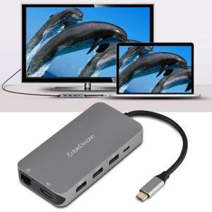 BOITIER PC  VAGUE Concentrateur type c à HDMI Adaptateur LAN R