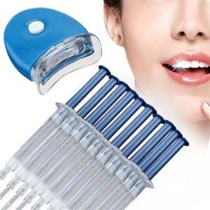 HOUSSE - ÉTUI Stylo de blanchiment dentaire Ensemble de dents bl