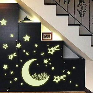 STICKERS Lumineux autocollants décor à la maison de décorat