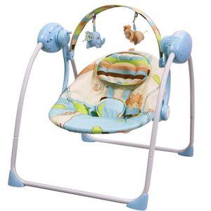 BALANCELLE Balancelle bébé électrique-transat : SPARKY bleu