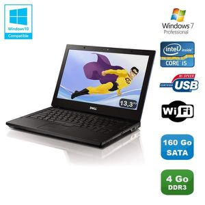 "Top achat PC Portable PC Portable 13.3"" DELL E4310 laptop Intel I5 560M 2.67Ghz 4Go 160Go Wifi Win 7 pas cher"
