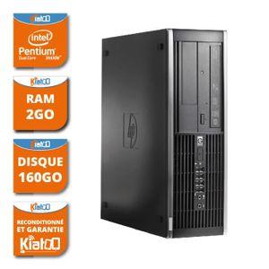 UNITÉ CENTRALE  ordinateur de bureau HP elite 6000 dual core 2 go