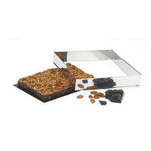CADRE A PATISSERIE PATISSE Cadre à pâtisserie extensible en inox - 4,