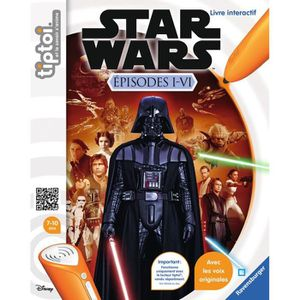 LIVRE INTERACTIF ENFANT STAR WARS TIPTOI Episode I-VI Interactif - Disney