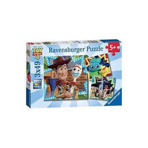 PUZZLE RAVENSBURGER Puzzle 3x49 p - Toy Story 4