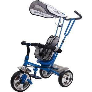 TRICYCLE Tricycle évolutif enfant Super Triker   Bleu.