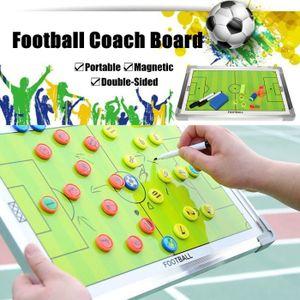 TABLEAU DE COACHING Football Tactique Tableau 2 Faces 2 Stylo Effaceur