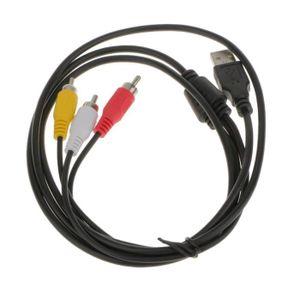 CÂBLE AUDIO VIDÉO VSHOP® Très haute qualité 1,5 m USB 2.0 A mâle ver