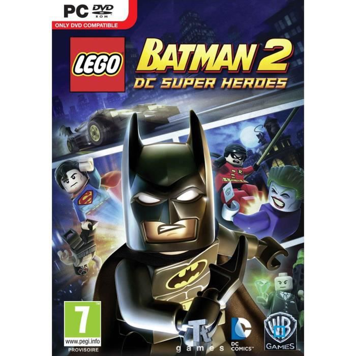 lego batman 2 jeu pc achat vente jeu pc lego batman 2 jeu pc cdiscount. Black Bedroom Furniture Sets. Home Design Ideas