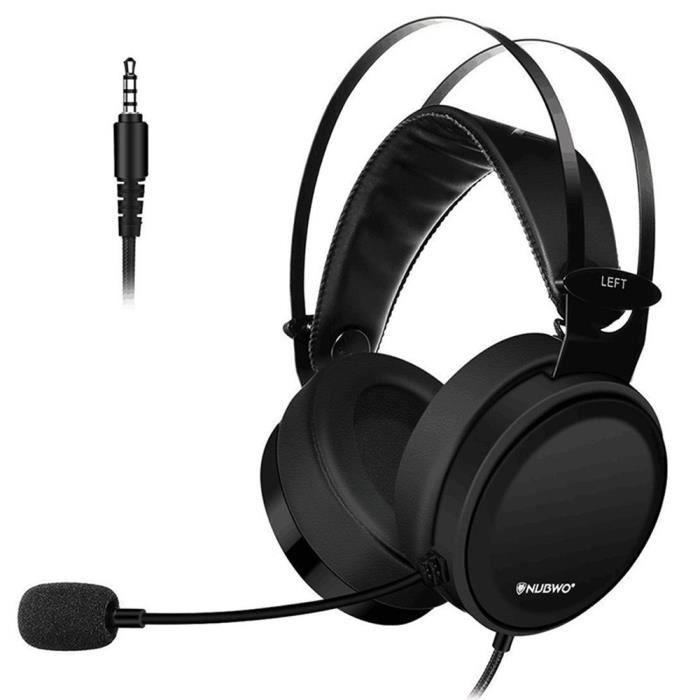 Nubwo N7 Gaming Headset Stereo Pc Gaming Headset avec un casque antibruit @fpadaft16220