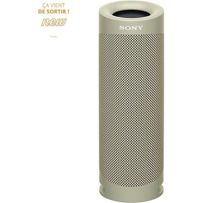 SONY SRSXB23C Enceinte Bluetooth - Autonomie 12h - Splash proof - Taupe