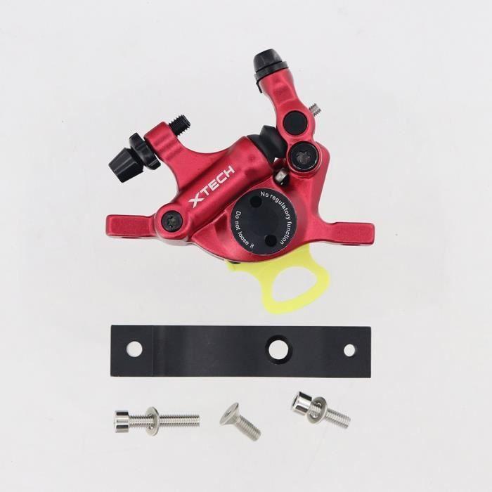 Pièce Détachée,Frein hydraulique d'alliage d'aluminium de ZOOM Xtech HB100 pour la mise à niveau de - Type Xetch Red Adapter