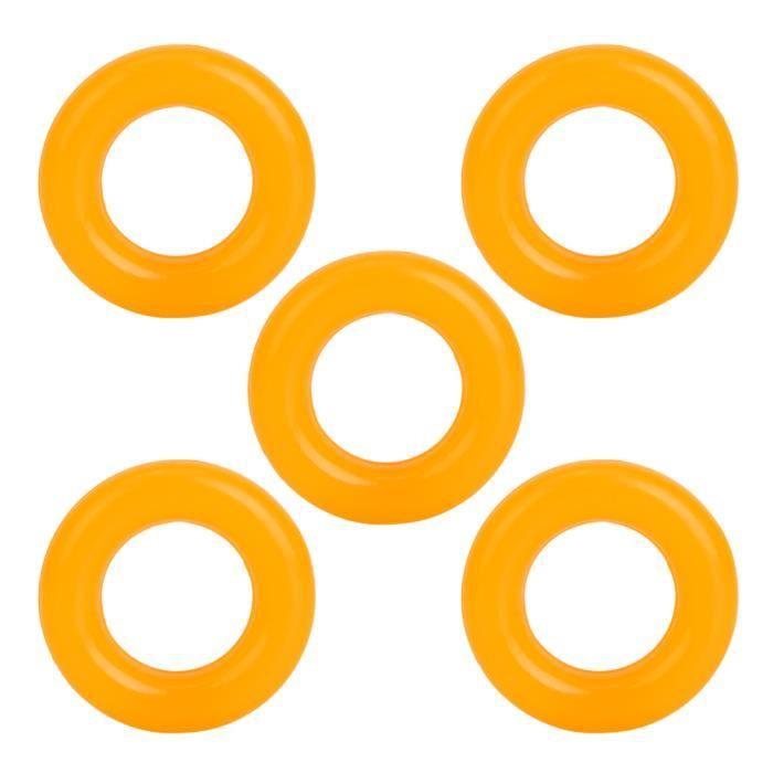 Dioche Anneau en caoutchouc de bobineur de canette Pneu d'anneau en caoutchouc de bobineur de bobine de 5 pièces pour accessoires