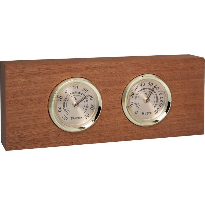 CLIMADIFF - BLTY01 - Accessoire cave à vin - Thermomètre hygromètre