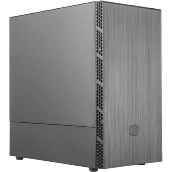 COOLER MASTER LTD BOITIER PC MB400L - Emplacement lecteur disque - Noir - Verre trempé - Format M-ATX (MCB-B400L-KN5N-S00)