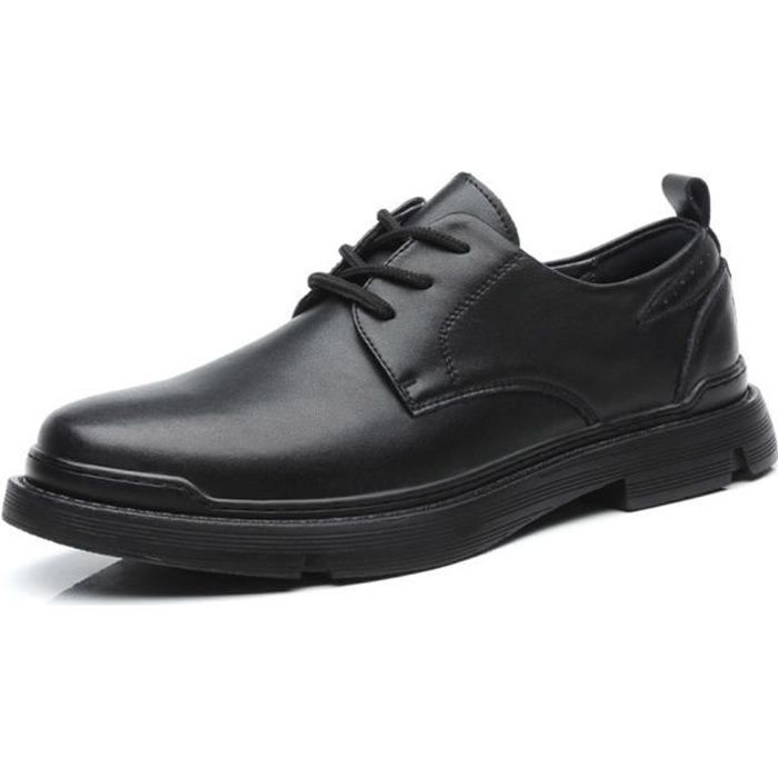 Chaussures Cuir ville Hommes Noir
