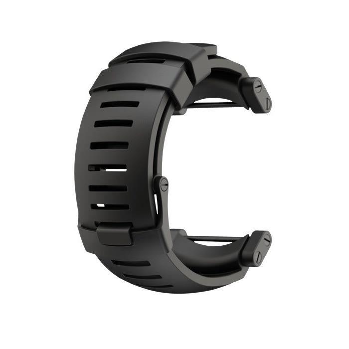 SUUNTO Bracelet de Montre Core Noir Silicone