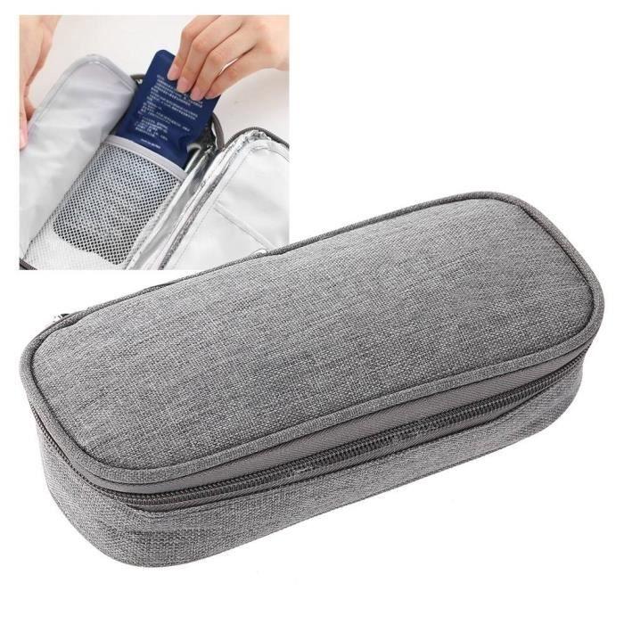 YOSOO sac protecteur de refroidissement Pochette portative de sac de protection pour refroidisseur d'insuline