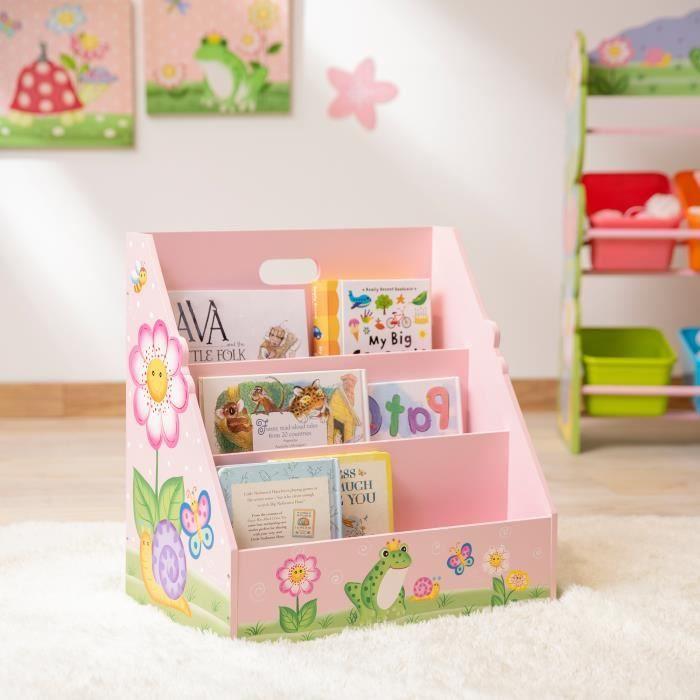 Meuble De Rangement Livres Etagere Bibliotheque Enfant Fille Fantasy Fields Td 13142a Achat Vente Etagere Bibliotheque 0816780029670 Cdiscount