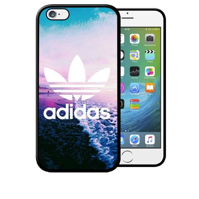 coque iphone 5c adidas original plage mer caraibe