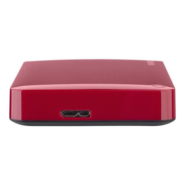 disque dur externe 2 5 2 to toshiba canvio connect ii rouge prix pas cher cdiscount. Black Bedroom Furniture Sets. Home Design Ideas