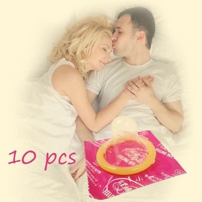 PRÉSERVATIF 10 PCS ultra-minces super tenacité hommes sexe fou