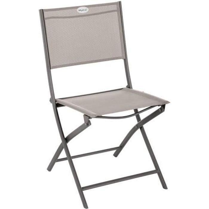 Chaises de table de jardin Chaise pliante Modula Hesperide ...