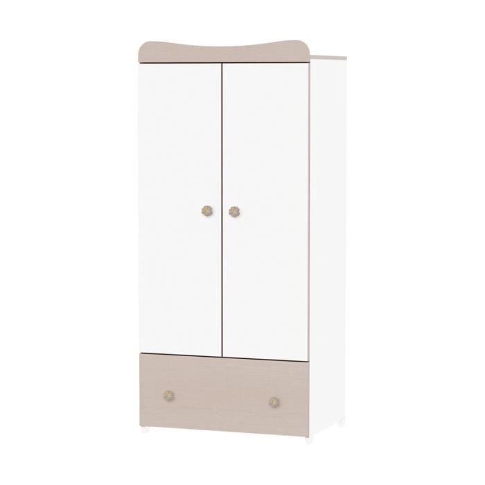 armoire chambre b b exclusive ch ne achat vente armoire 2009808895670 soldes cdiscount. Black Bedroom Furniture Sets. Home Design Ideas